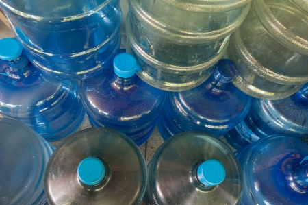 set of Big bottles for cooler