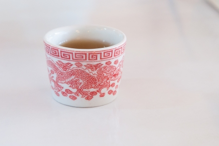 traditional Chinese tea cup Stock Photo - 15947579