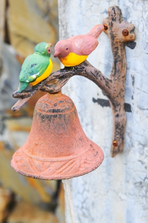 ceramic of birds and bell Stock Photo - 15947608