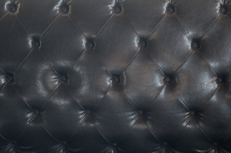 black upholstery leather pattern background  photo