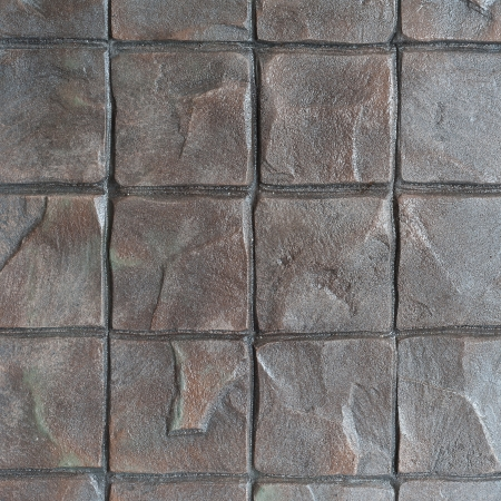 Patrón sello de concreto para piso acabado al aire libre