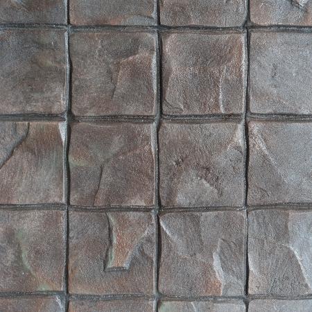 piso piedra: Patr�n sello de concreto para piso acabado al aire libre