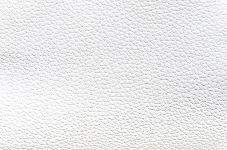 close up of White Leather Texture Stock Photo