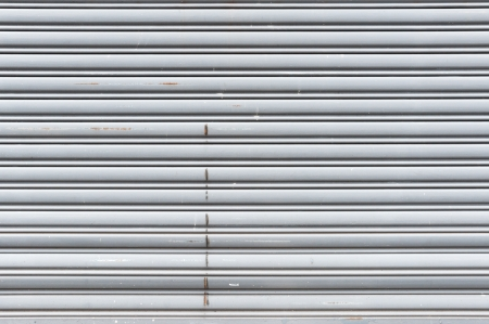 old metal roller shutter door photo