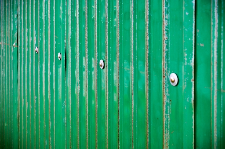 Green metal sheet with bolt Stock Photo - 16739579