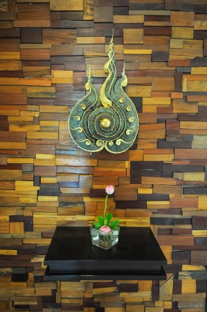 Thai contemporary style wall decoration Stock Photo - 17266079