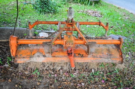 part of agriculture tractor photo
