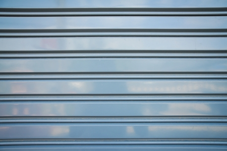 close up of metal roller shutter door Stock Photo - 18093422