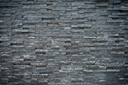 brique: al�atoire granit noir mur de pierre, de style grungy