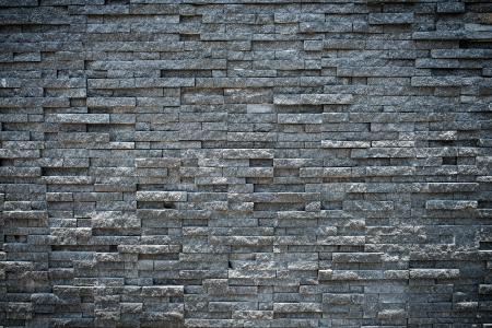 random black granite stone wall, grungy style Stock Photo - 18881239