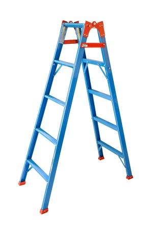 Ladder Isolated on white background  Standard-Bild