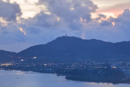 seascape in twilight, phuket Thailand  photo