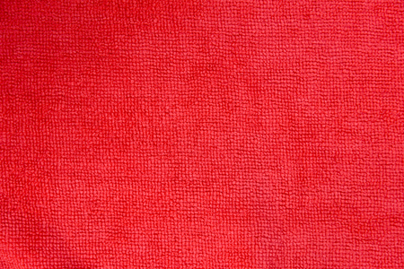 red microfiber cloth texture for background Stock Photo