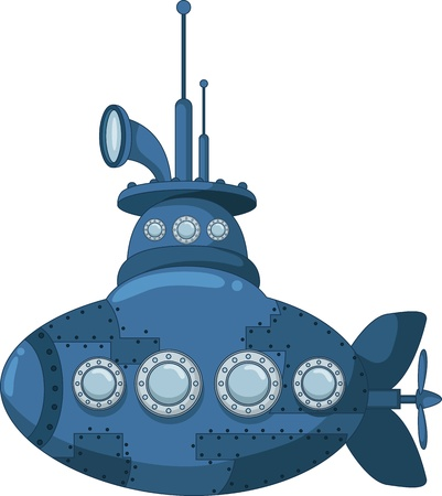 submarine: blue submarine for you design