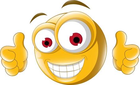 smiley pouce: Thumb up émoticône pour vous concevez