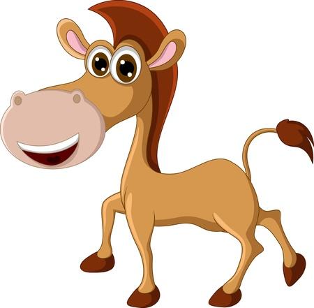 nostrils: funny horse for you design Illustration