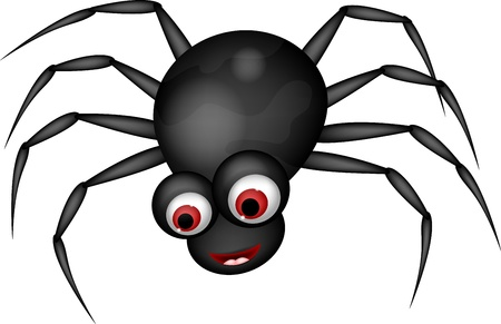 arachnid: funny spider cartoon Illustration
