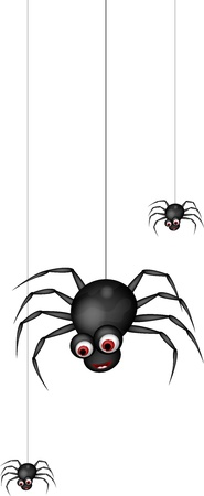 crawly: funny spider cartoon family