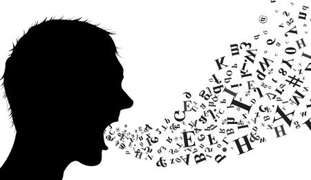 divergence: speaker silhouette