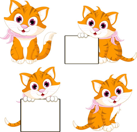 cute cat cartoon collection