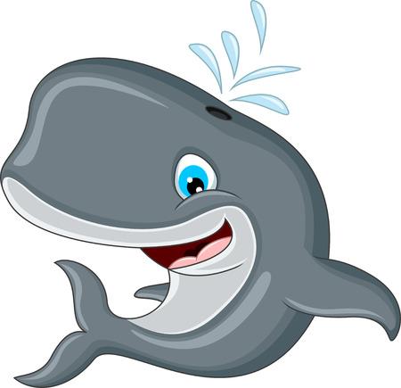 baleine: dessin animé baleine