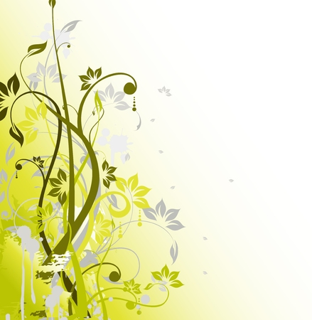 Abstract floral background  for you design Vector