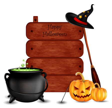 decoction: happy halloween background for you design
