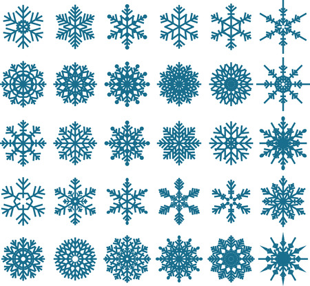 snowflakes: Snowflake Vectors for you design