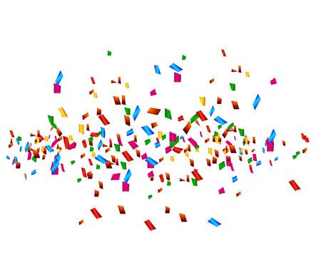 celebration background with confetti