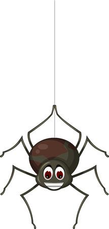 gossamer: spider cartoon for you design