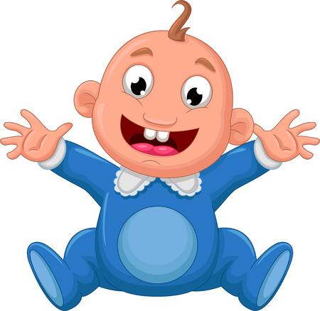 romper suit: happy baby cartoon