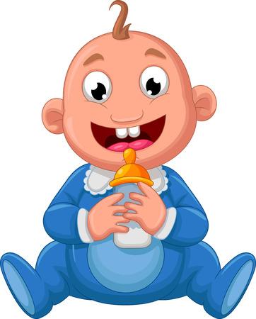 romper suit: baby cartoon