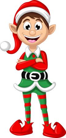 Weihnachtself Standard-Bild - 37084391