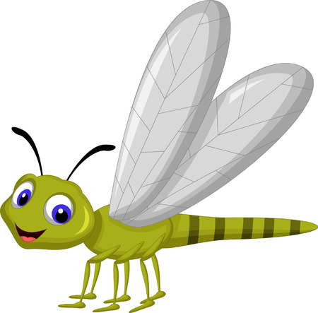 dragonfly wing: Dragonfly cartoon