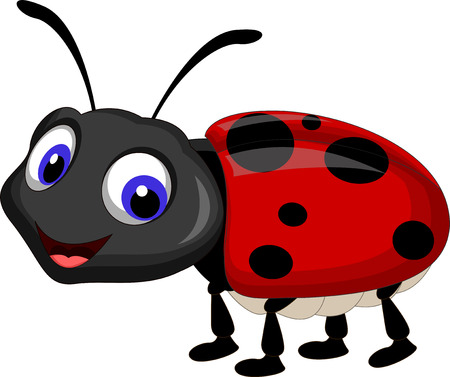 cartoon bug: Ladybug cartoon