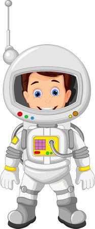 Cartoon Astronaut for you design Illusztráció
