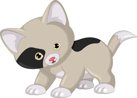 purring: cat cartoon