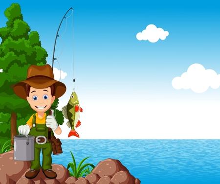 pêcheur pour vous concevoir Vecteurs