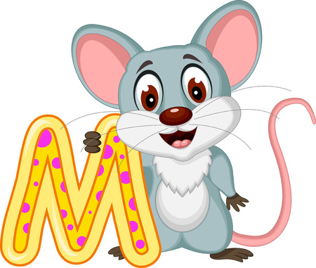 cute mouse: cute mouse cartoon posing