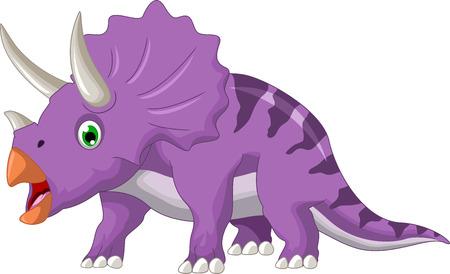 freak: Dinosaur Triceratops cartoon