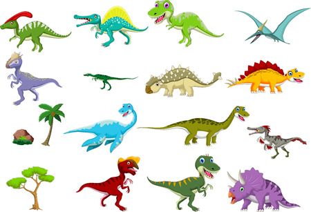 dinosaurs: dinosaur cartoon collection