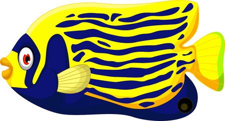angelfish: cute cartoon angel fish