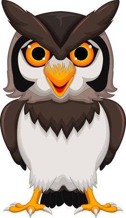 talon: Cute owl cartoon