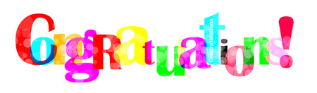 acclaim: Congratulations letter for you design