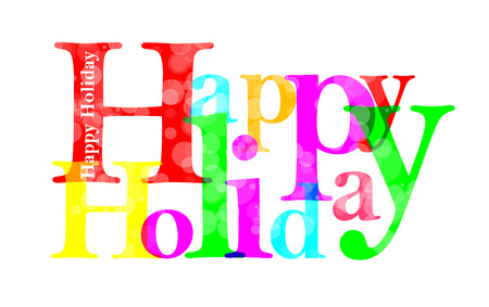 upscale: Happy Holiday letter for you design