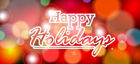 holiday background: happy holiday background