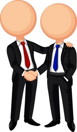 shakes: Business handshake Illustration