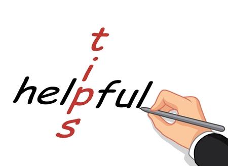 the writing: Hand writing Helpful Tips