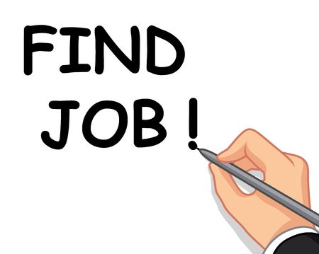 hired: hand writing find job