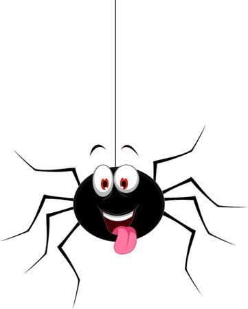 grappige cartoon spin voor u ontwerp